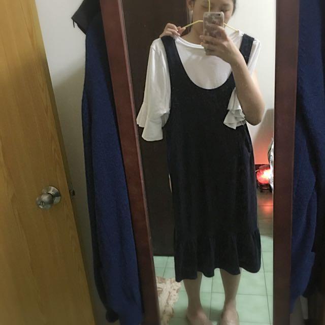 荷葉邊💁🏼洋裝
