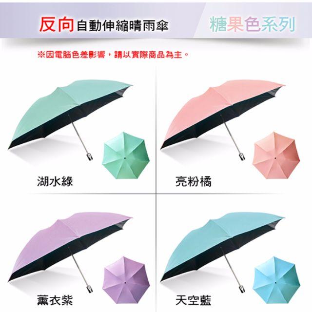 【現貨】神美三代-反向自動伸縮晴雨傘