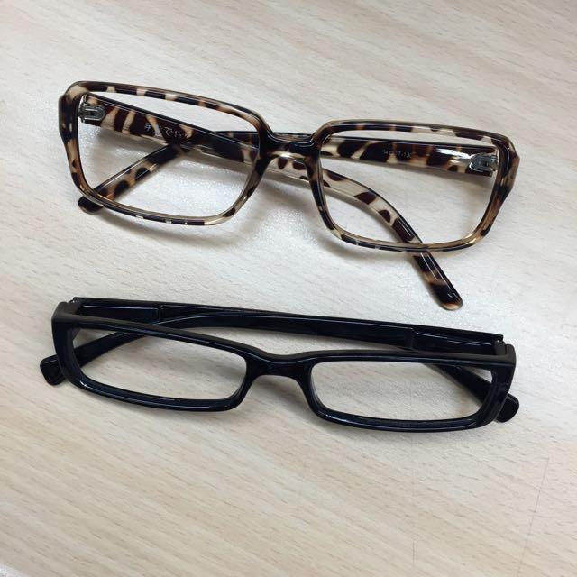 二手無框眼鏡 鏡片已遺失
