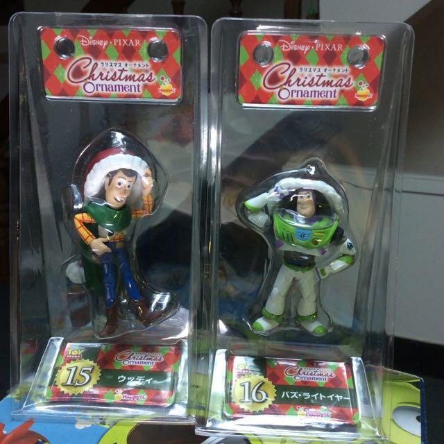 玩具總動員 聖誕吊飾 快樂賞 胡迪巴斯 一組 全新未拆