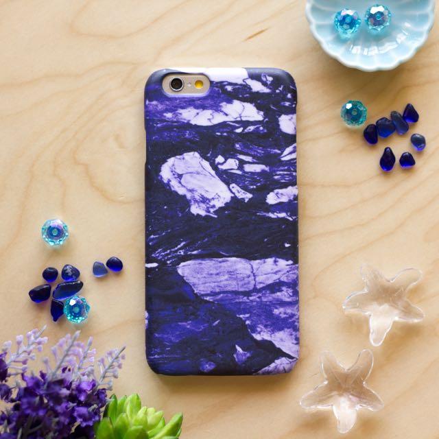 紫色大理石 //原創手機殼- iPhone, HTC, Samsung, Sony,oppo, LG 磨砂硬殼/全包軟殼