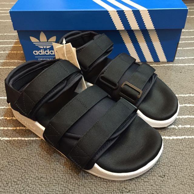 Adidas adilette sandal w  涼鞋 黑色 現貨 全新正品