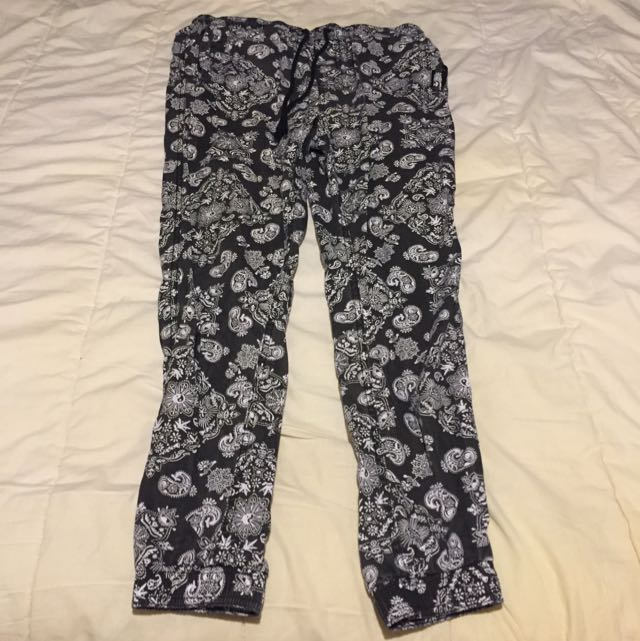Afends Paisley Print Beach Pant