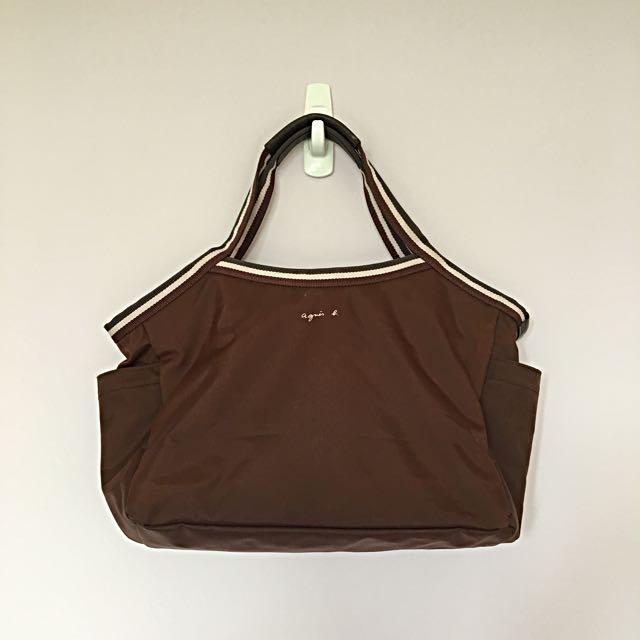 狂降👛agnis.b經典基本款手提包👛(新光三越購入)
