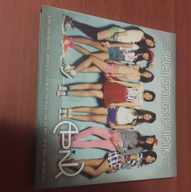 APINK SEVEN SPRINGS OF APINK ALBUM