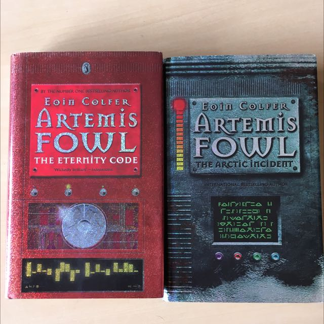 Artemis Fowl: The Artic Incident & The Eternity Code