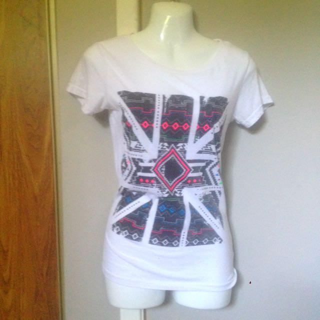 Aztec Printed T-shirt