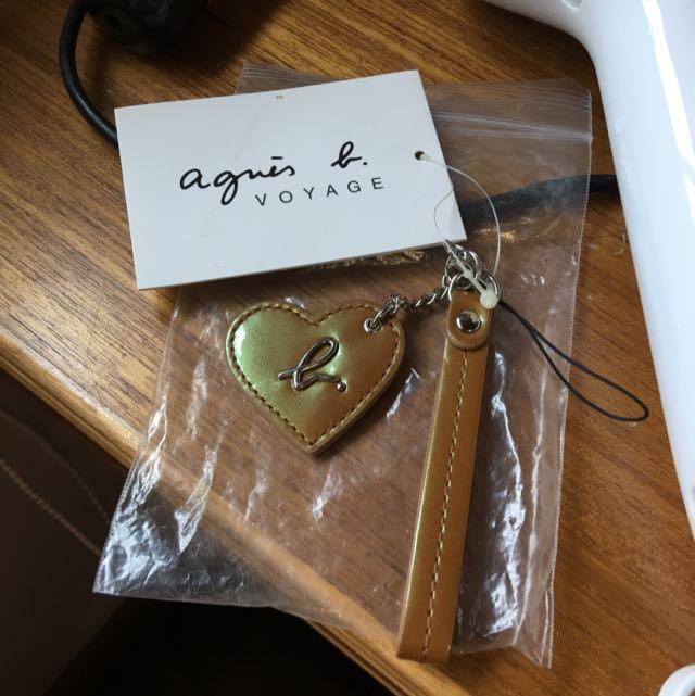 小b Agnes.b 鑰匙圈 手機掛飾