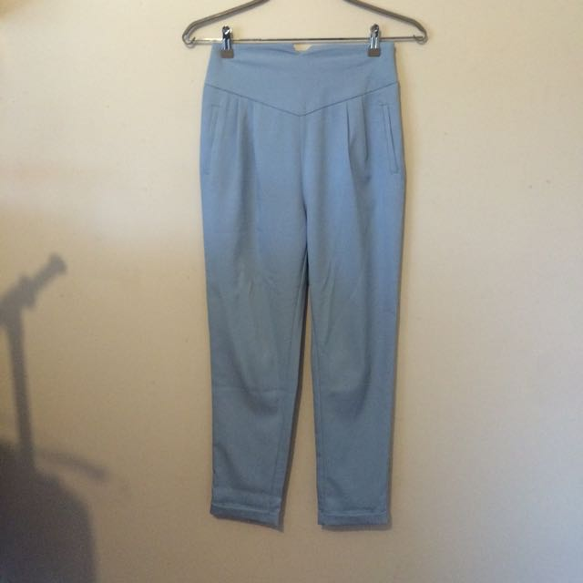 Baby Blue High Pants