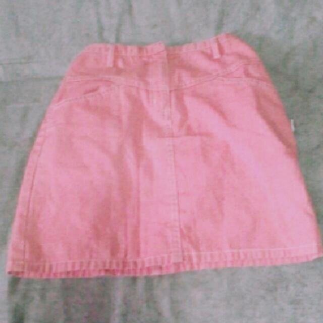 Baby Pink Aesthetic Skirt