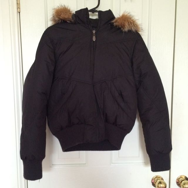 Big Warm Puffy Feather Filled Jacket