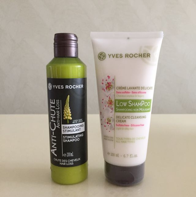 yves rocher low shampoo  BN Yves Rocher Hair Stimulant & Low Shampoo, Health & Beauty on ...