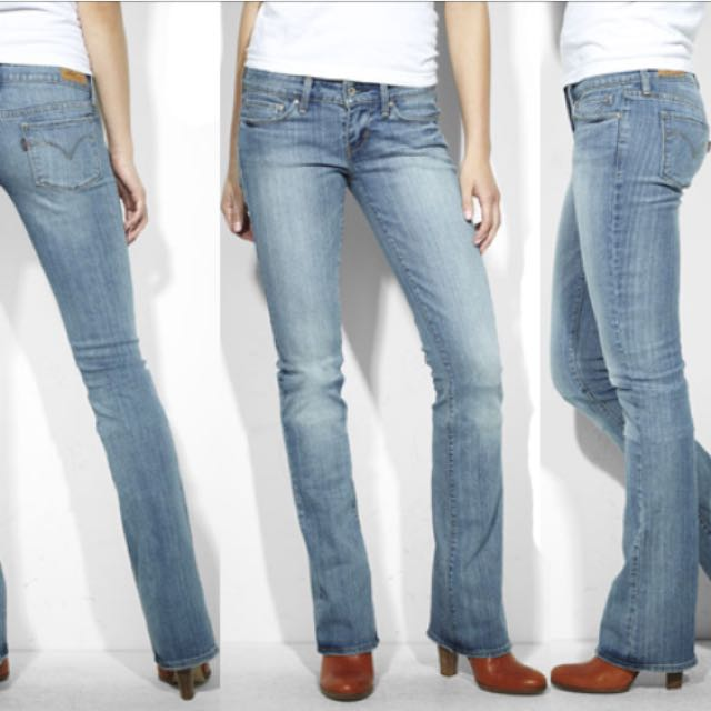 100% authenticated fashion attractive style (REDUCED TO CLEAR) BNWT Levi's low Rise Demi Curve Boot Cut Skinny Jeans
