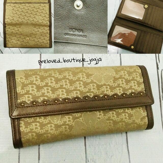 Bonia Wallet Authentic
