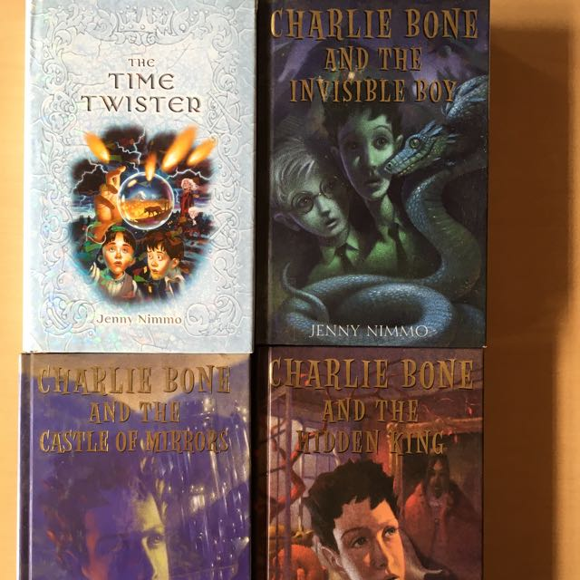 Charlie Bones: The Time Twister, The Castle Mirrors, The Hidden King & The Invisible Boy