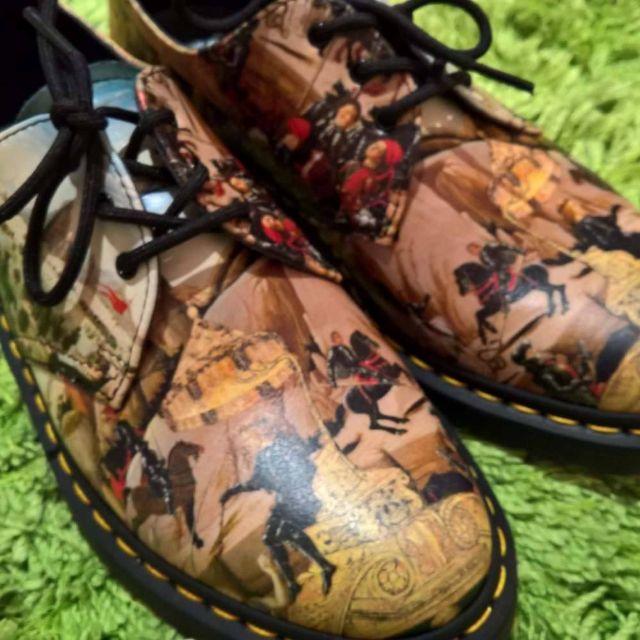 Dr.Martens 'D'Antonio Renaissance' 1461 3-Eye Women's Shoes - size 41//9.