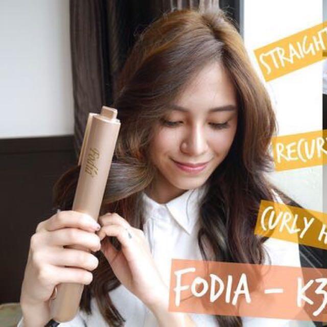 FODIA 富麗雅K35兩用直捲夾電棒