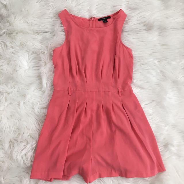 Forever21 Pink Romper
