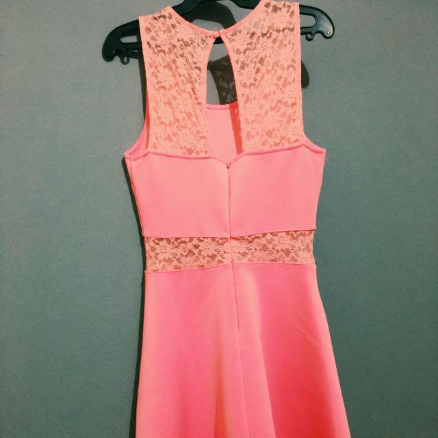 Forever 21 Lace Skater Dress