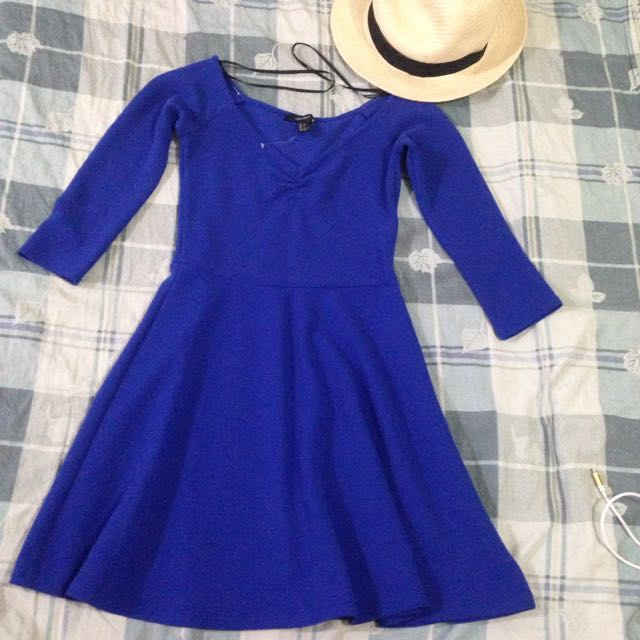 Forever 21 Royal Blue Dress