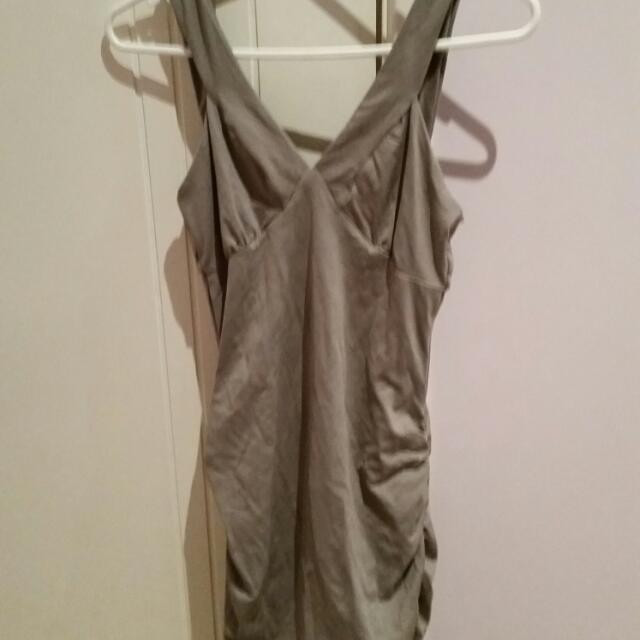 Grey Bandage Kookai Dress