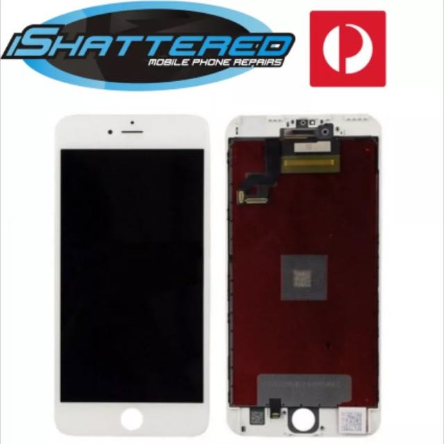 "iPhone 6s Plus 5.5"" New LCD touch Screen Digitizer Assembly White"