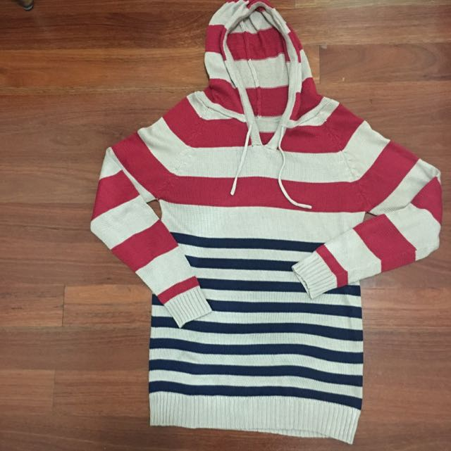 •ON HOLD• LONG STRIPE SWEATER