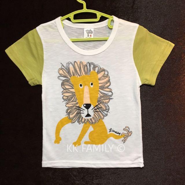【夏季出清】MIT好朋友小獅子短袖薄T