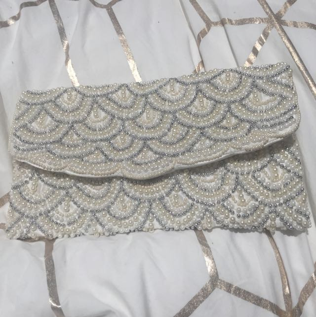 New Look Pearl Clutch