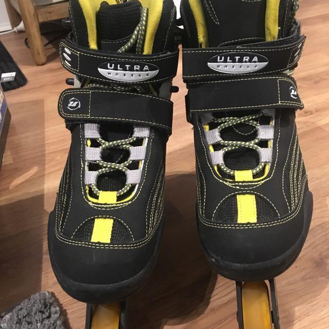 Rollerblades Ultrawheels ABEC3 Biofit SQ4 Size US11