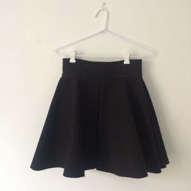 Size Small Black Skater Skirt