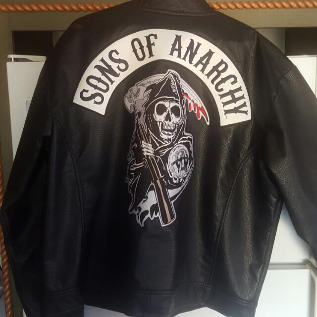 Sons Of Anarchy Leather Jacket