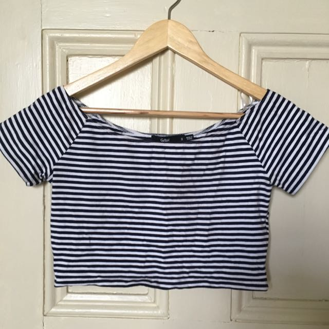 Sportsgirl Stripy Crop