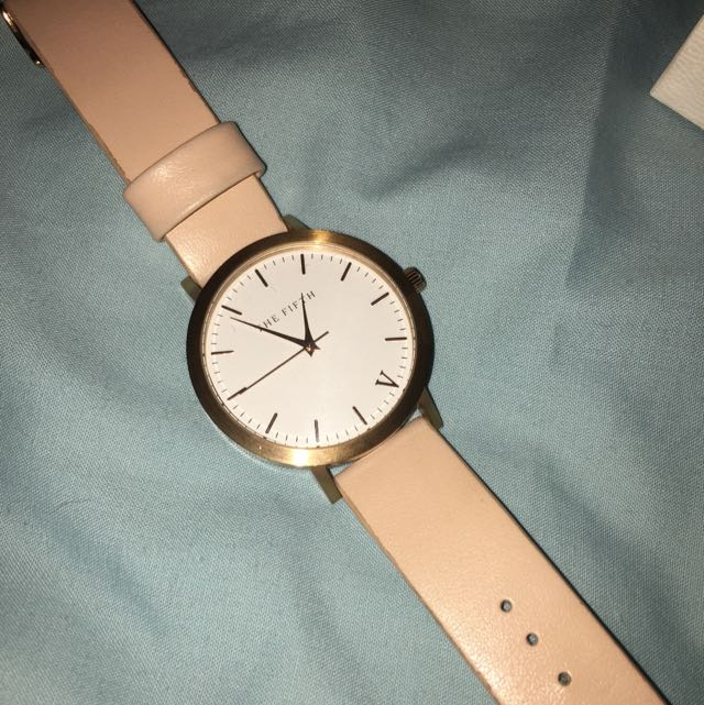 The Fifth Rose Gold Watch