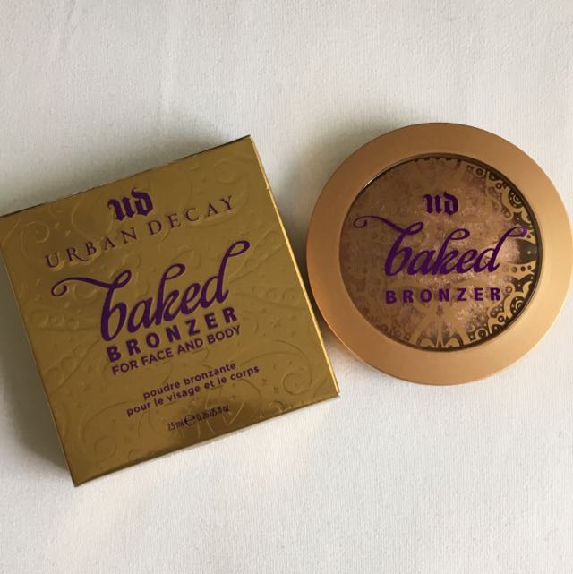 URBAN DECAY Baked Bronzer For Face & Body