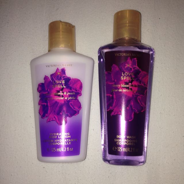 Vic Secret Body Lotion And Wash