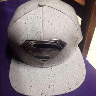 超人帽子 灰色