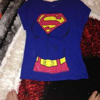 Superman Body Shirt From Arden Size Large