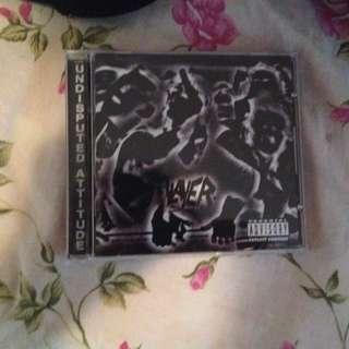 Slayer Undisputed Attitude Album
