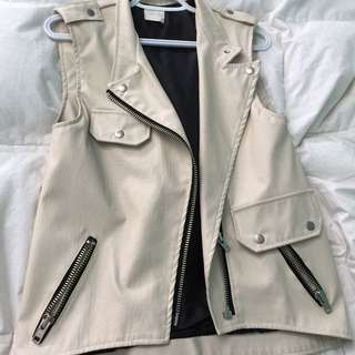 Loft 82 (sold @ Oak And Fort) Cream Vest