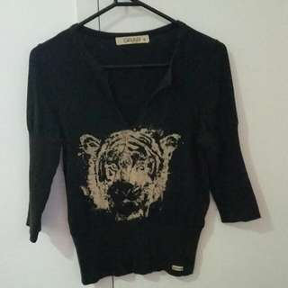 Grab - Tiger Top. Size S