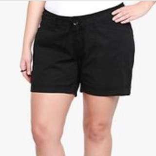 Torrid Linen Shorts
