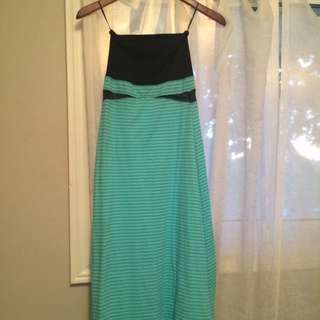 Hurley Maxi Dress Reverses To Skirt