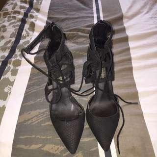 Wrap Around Heels