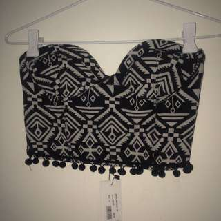 Tribal Strapless Top Milli Lulo