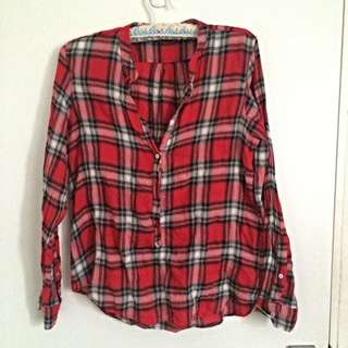 Zara Flannel Shirt