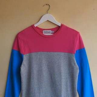Topman Colorblock Sweatshirt