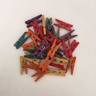 Bundle Of Mini Pegs