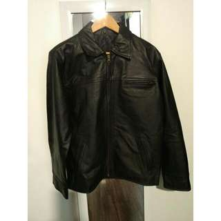 Dormeuil Leather Jacket M
