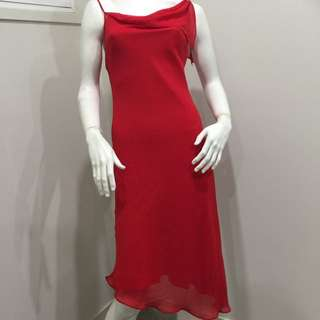 Hot Red Valley girl Cocktail Dress